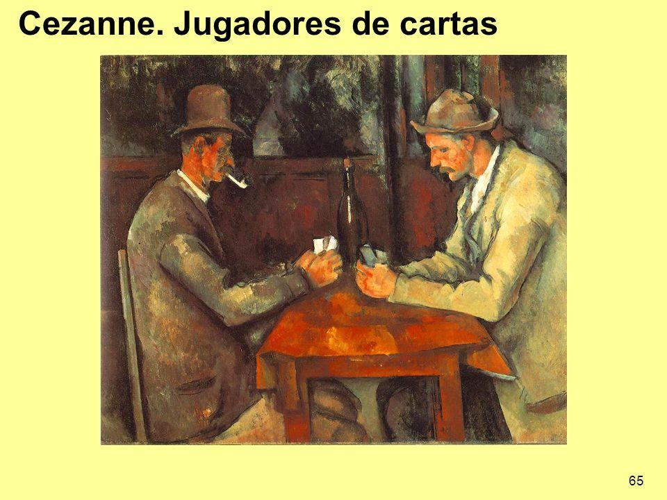 Cezanne. Jugadores de cartas