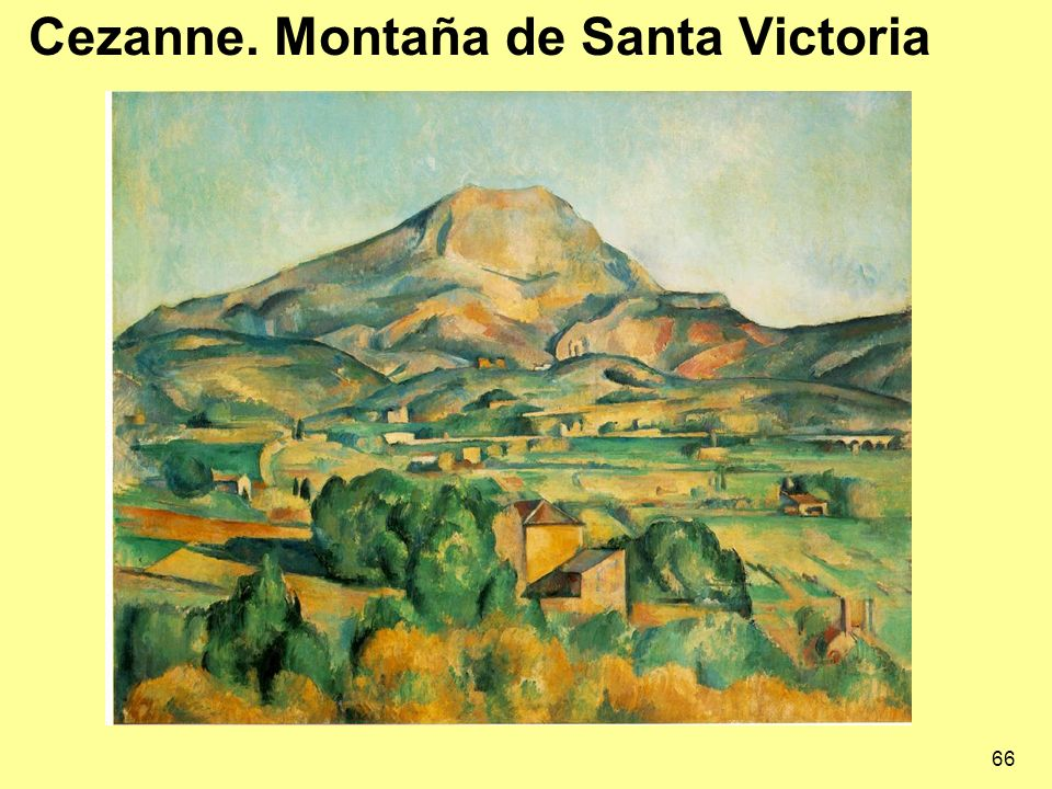 Cezanne. Montaña de Santa Victoria