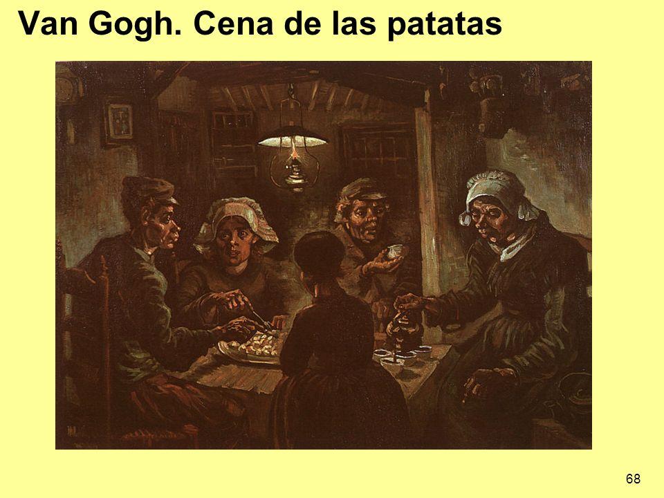 Van Gogh. Cena de las patatas