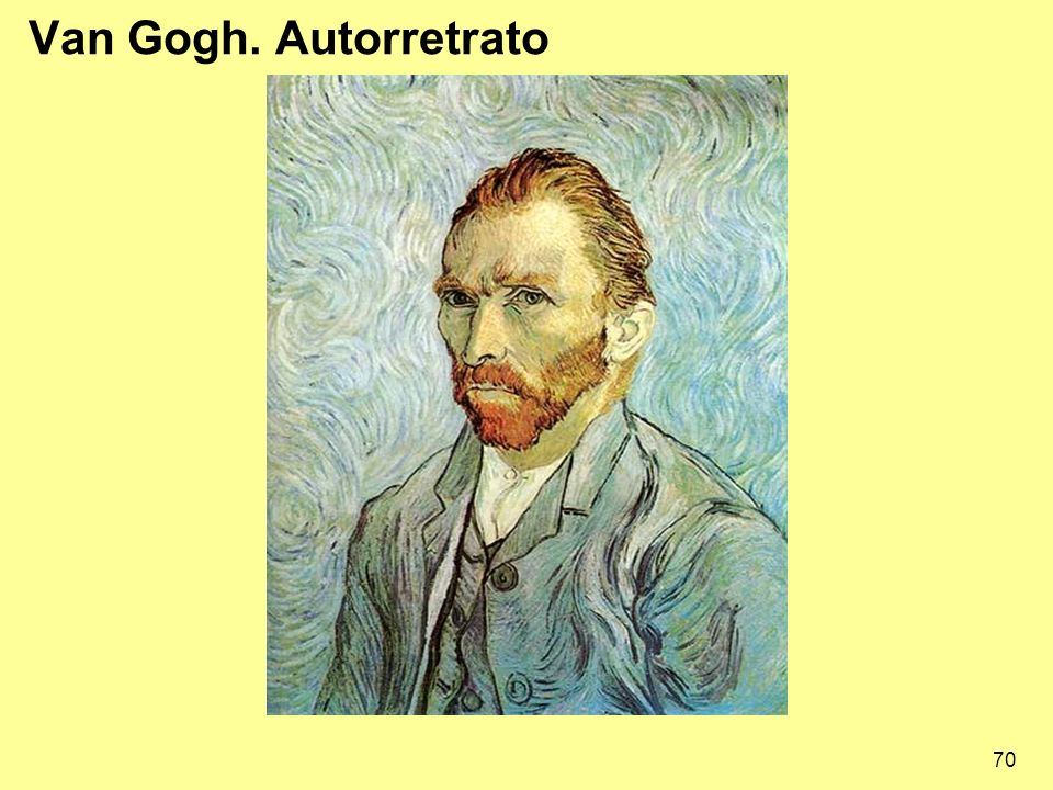 Van Gogh. Autorretrato