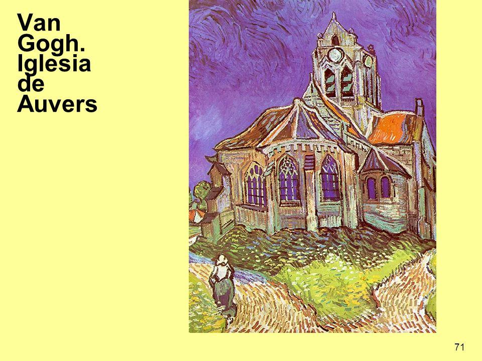 Van Gogh. Iglesia de Auvers