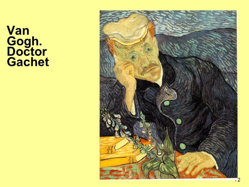 Van Gogh. Doctor Gachet
