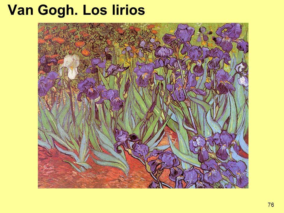 Van Gogh. Los lirios