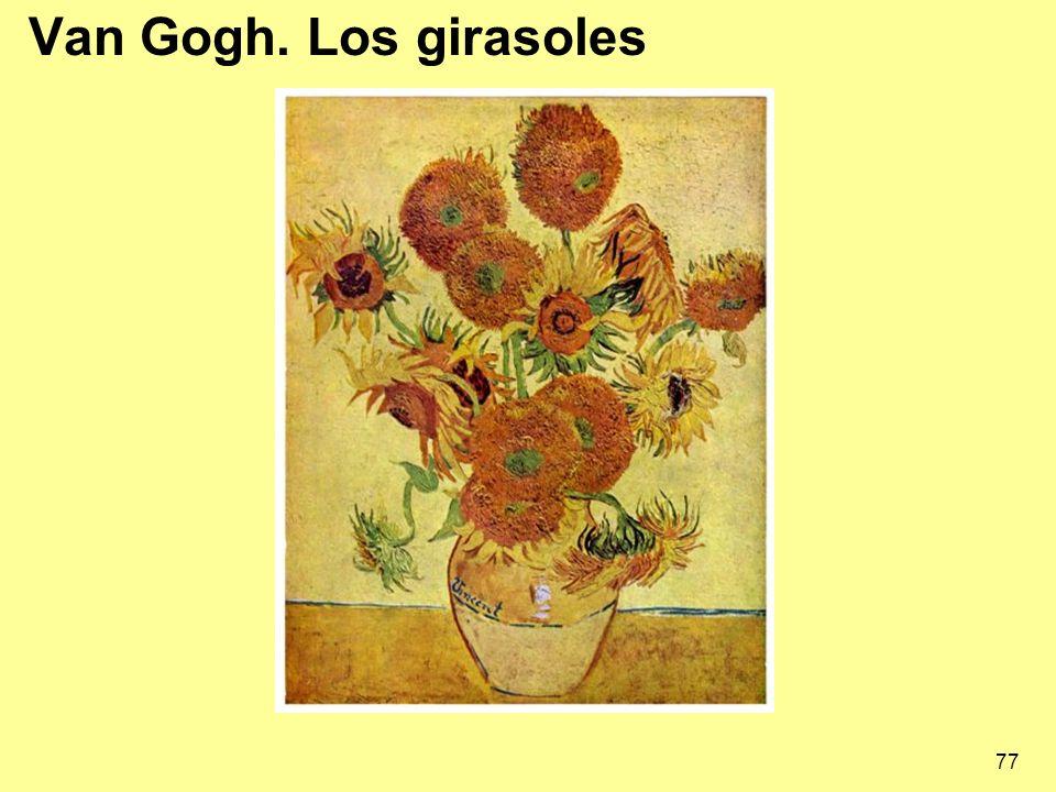 Van Gogh. Los girasoles