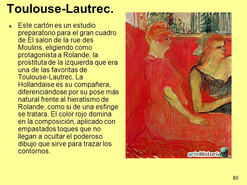 Toulouse-Lautrec.