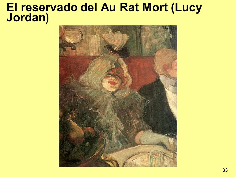 El reservado del Au Rat Mort (Lucy Jordan)
