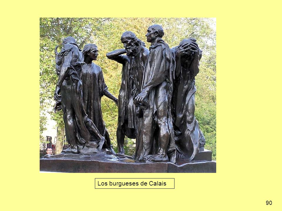 Los burgueses de Calais