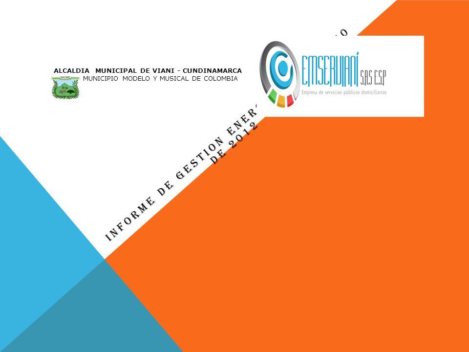 INFORME DE GESTION ENERO 10 A JUNIO 30 DE 2012