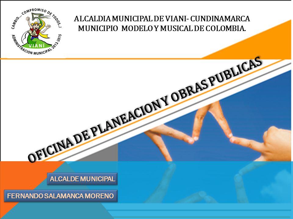 OFICINA DE PLANEACION Y OBRAS PUBLICAS