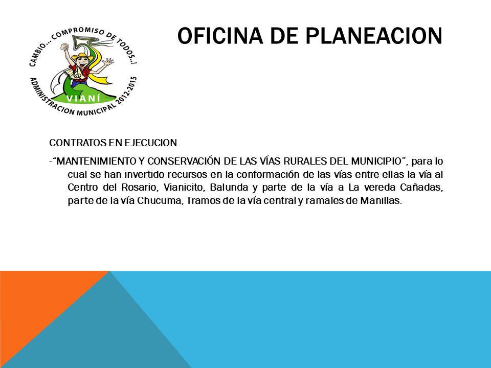OFICINA DE PLANEACION