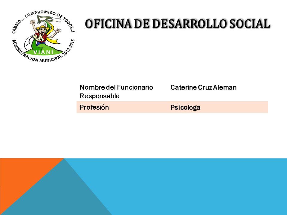 OFICINA DE DESARROLLO SOCIAL