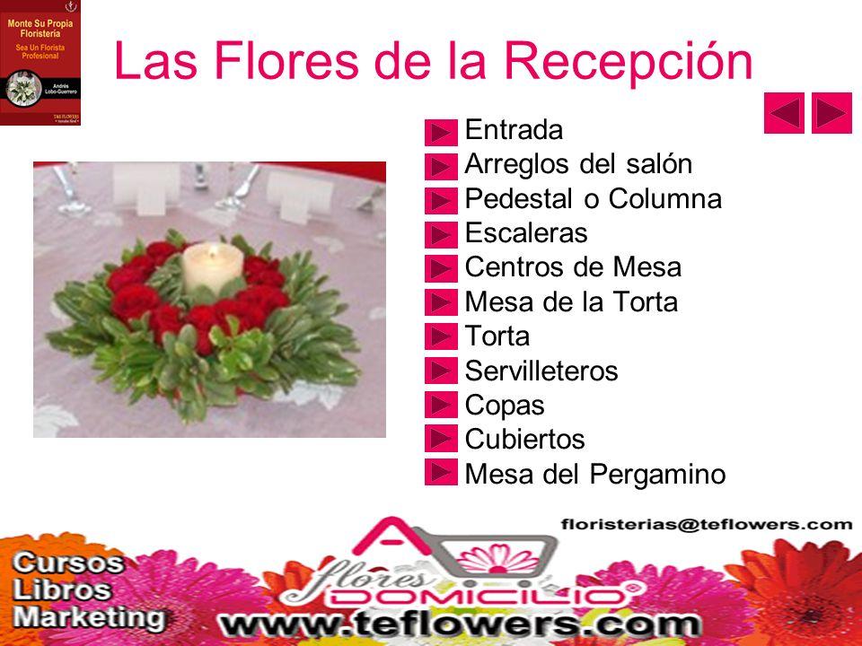 Las Flores de la Recepción