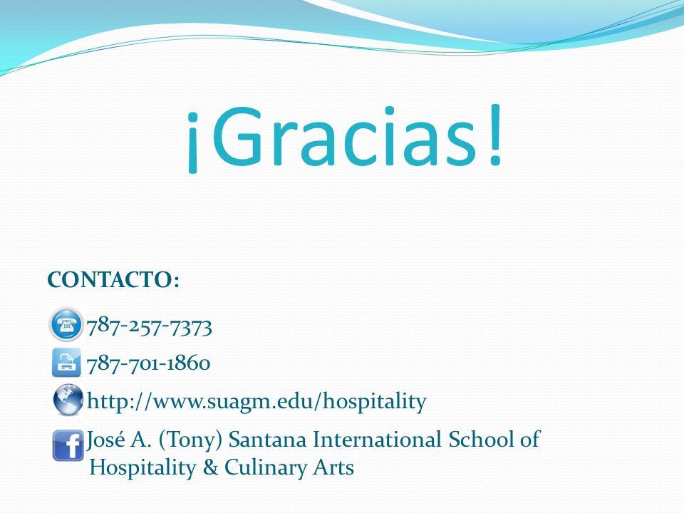¡Gracias! CONTACTO: 787-257-7373 787-701-1860