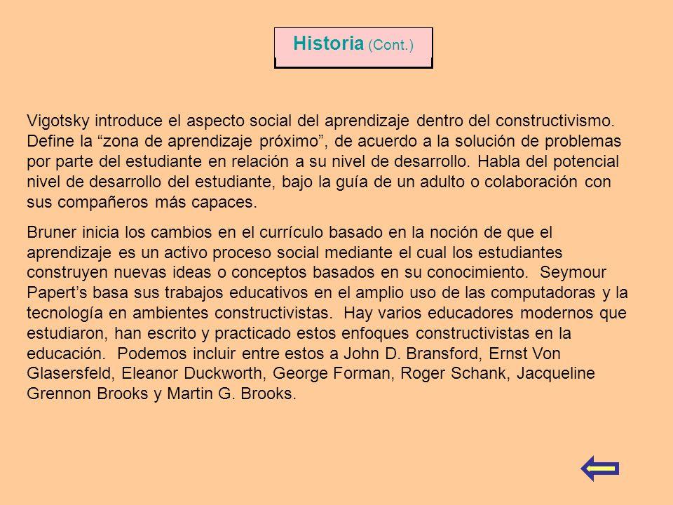 Historia (Cont.)