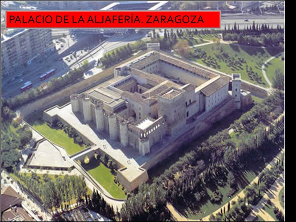 PALACIO DE LA ALJAFERÍA. ZARAGOZA