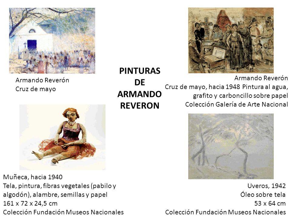 PINTURAS DE ARMANDO REVERON