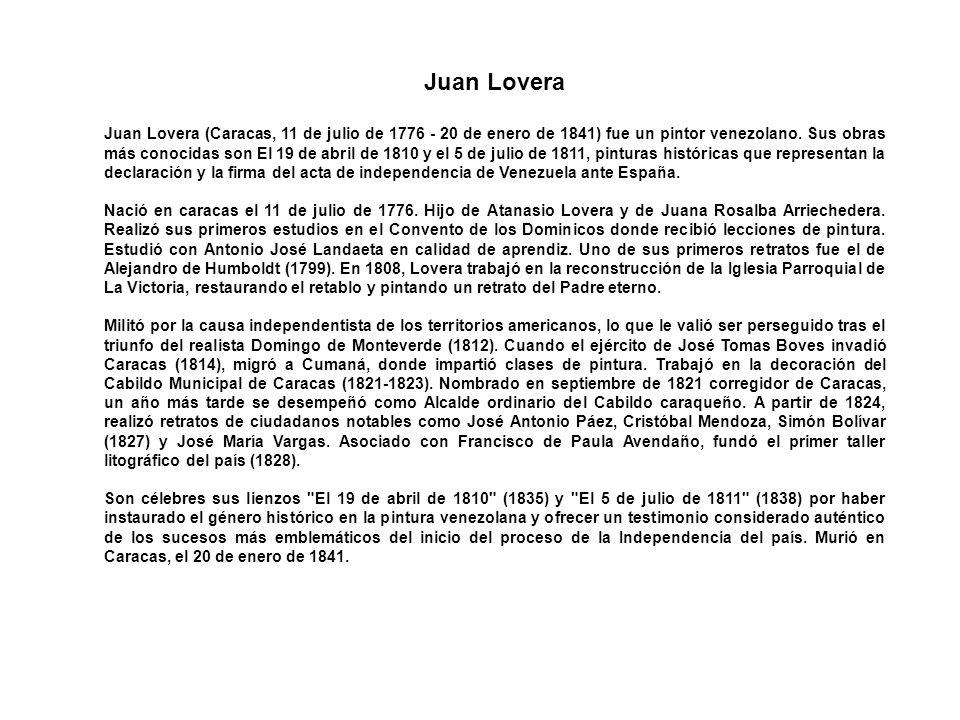 Juan Lovera
