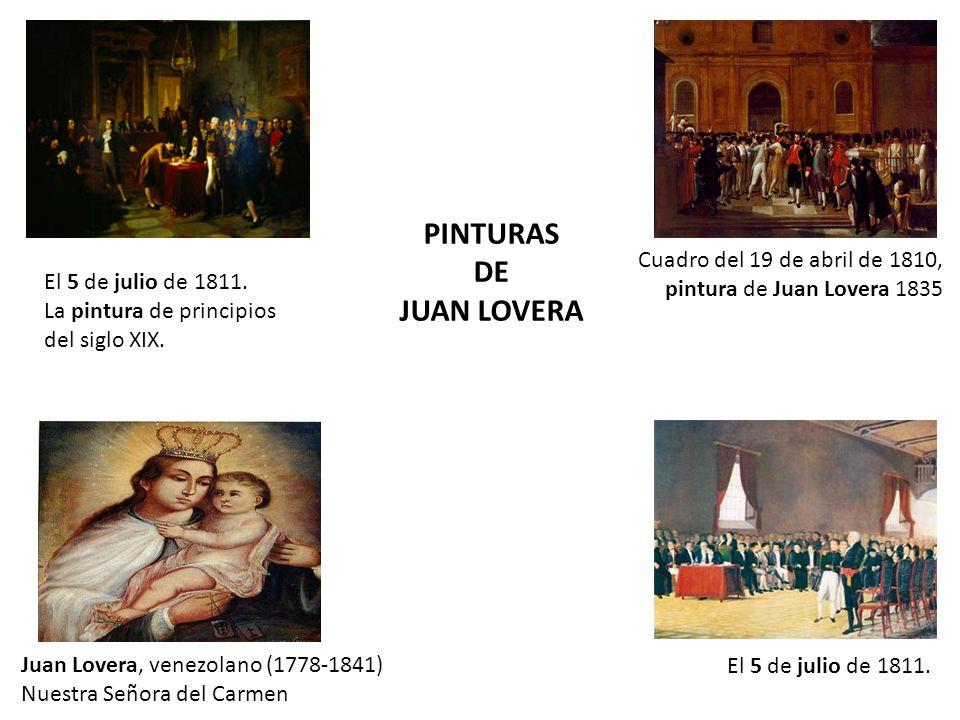 PINTURAS DE JUAN LOVERA