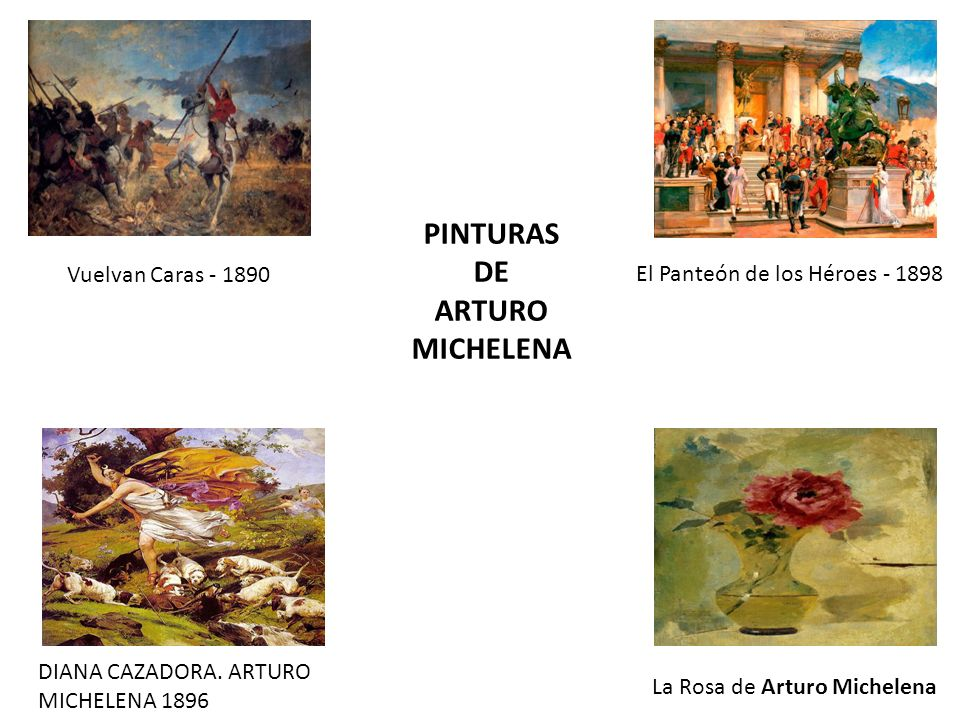 PINTURAS DE ARTURO MICHELENA