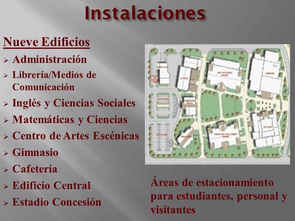 Instalaciones Nueve Edificios Administración
