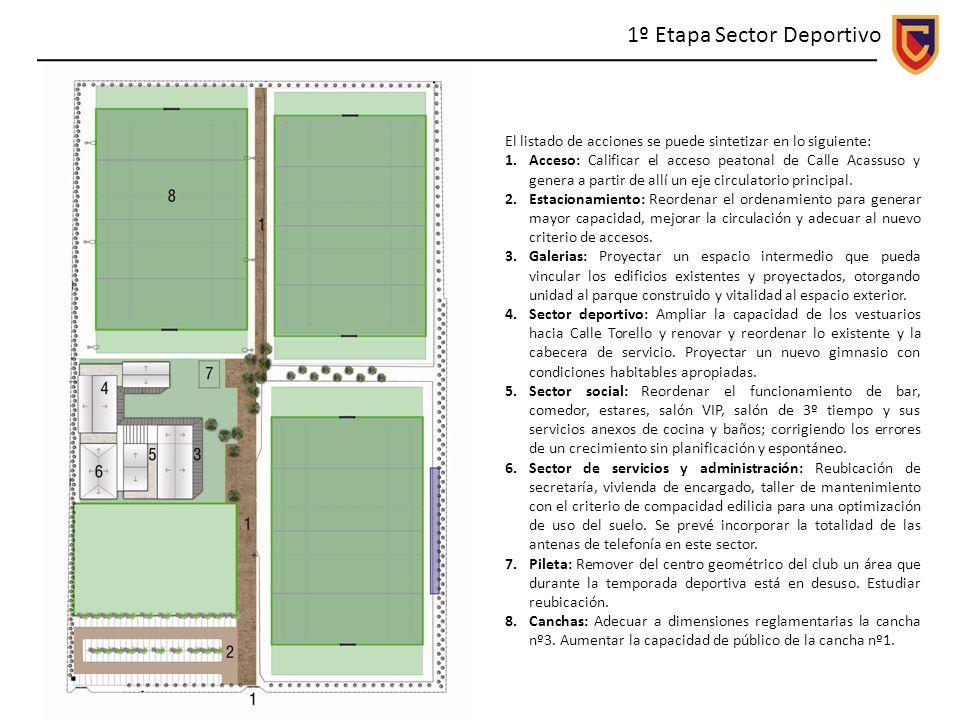 1º Etapa Sector Deportivo