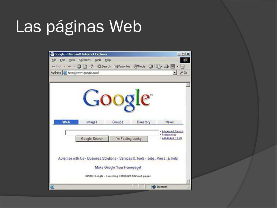 Las páginas Web