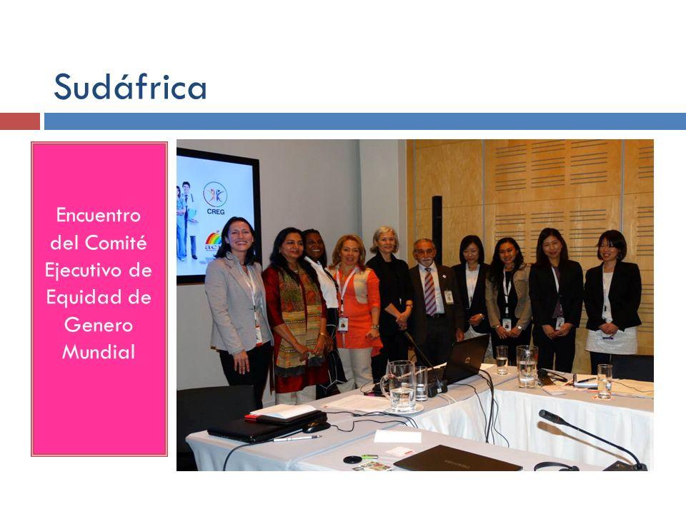 Encuentro del Comité Ejecutivo de Equidad de Genero Mundial