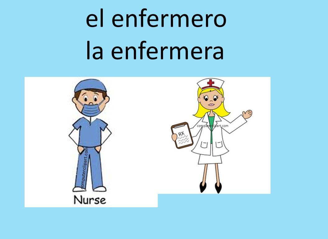 el enfermero la enfermera computerclipart.com computerclipart.com