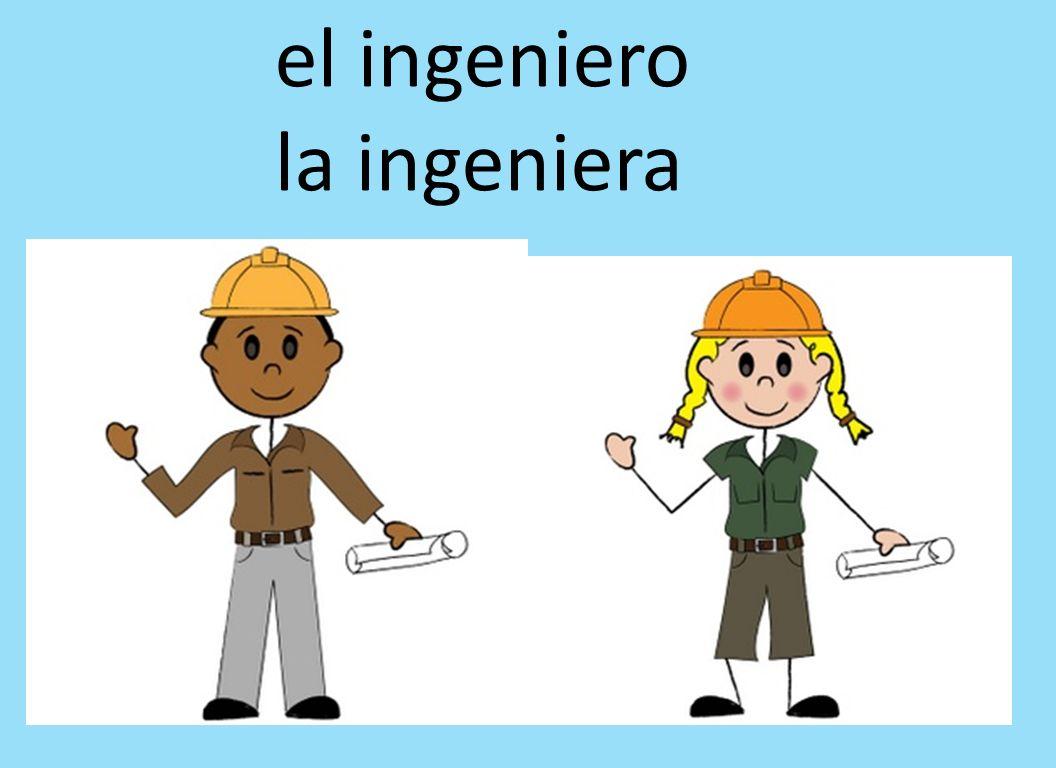 el ingeniero la ingeniera