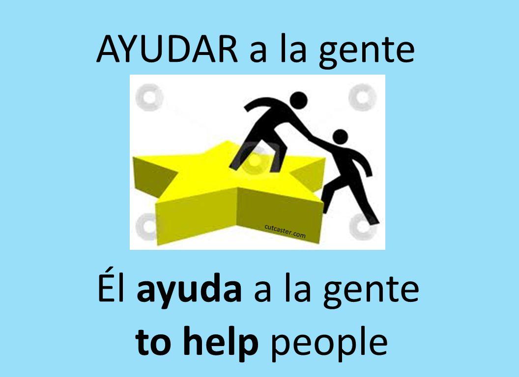 AYUDAR a la gente cutcaster.com Él ayuda a la gente to help people