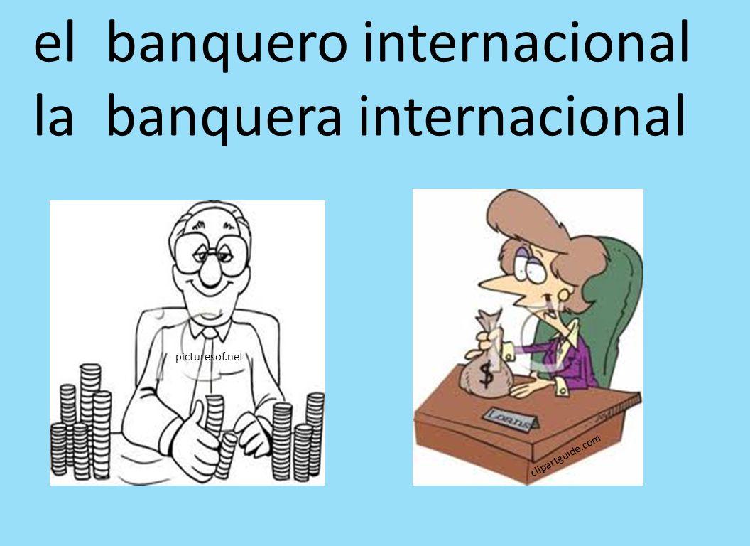 el banquero internacional la banquera internacional