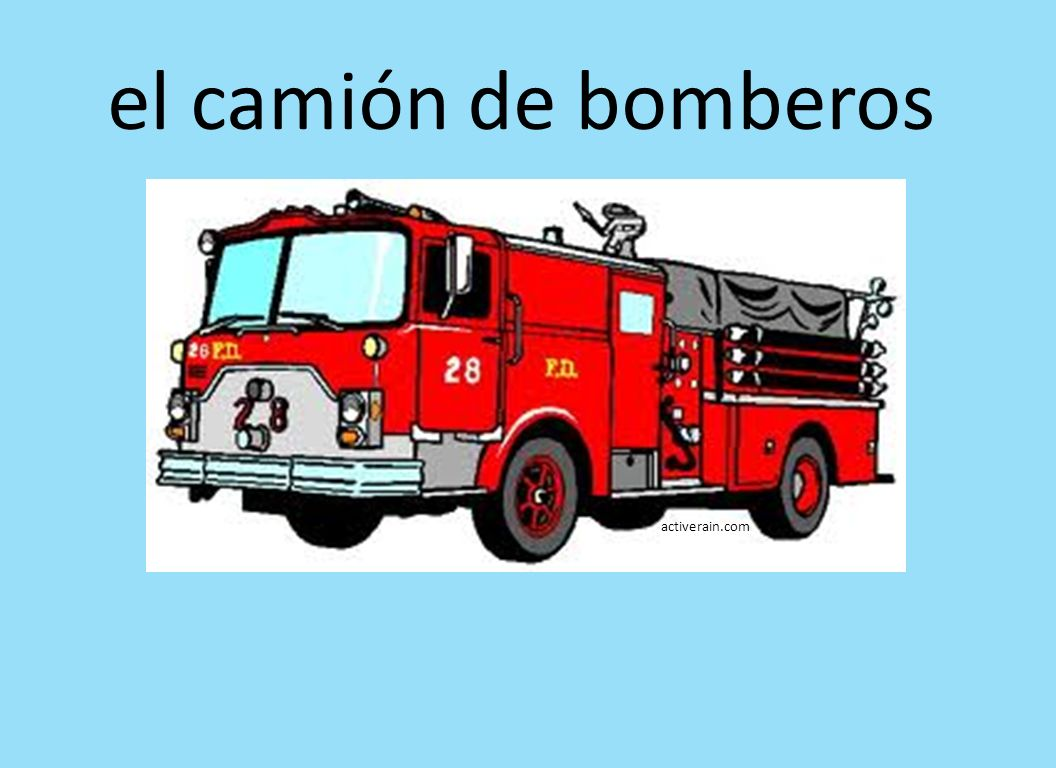 el camión de bomberos activerain.com