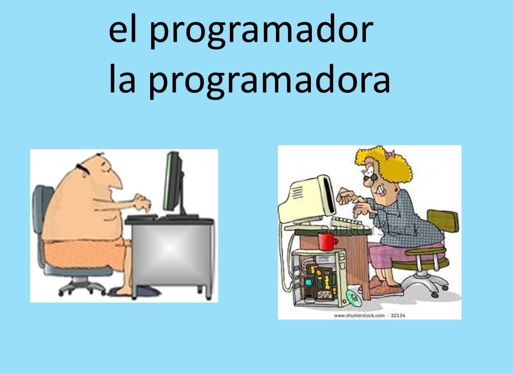 el programador la programadora