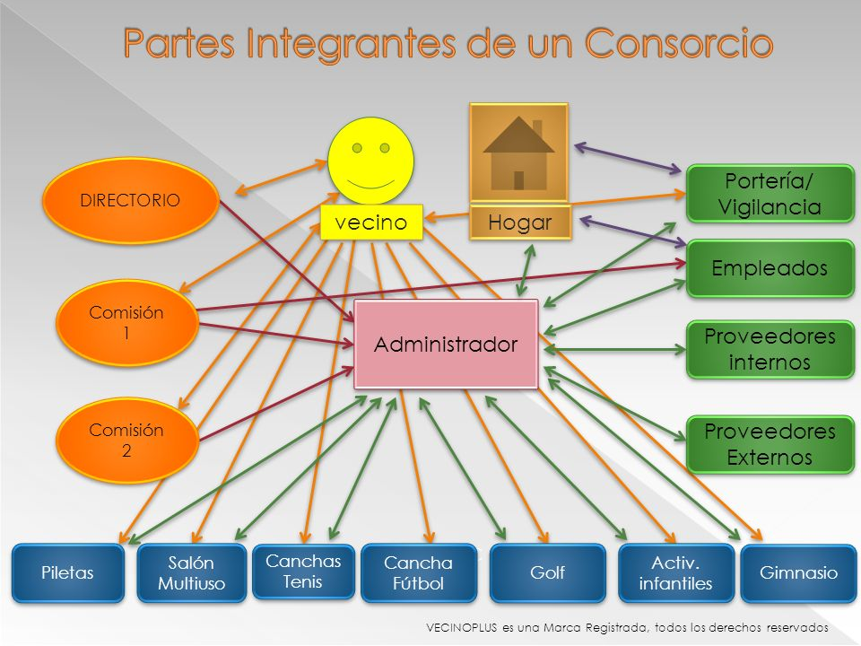 Partes Integrantes de un Consorcio