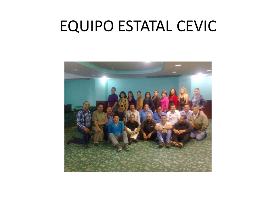 EQUIPO ESTATAL CEVIC
