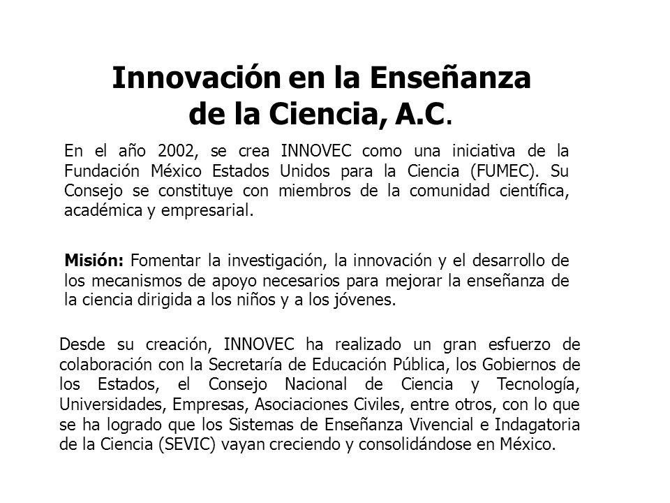 Innovación en la Enseñanza de la Ciencia, A.C.
