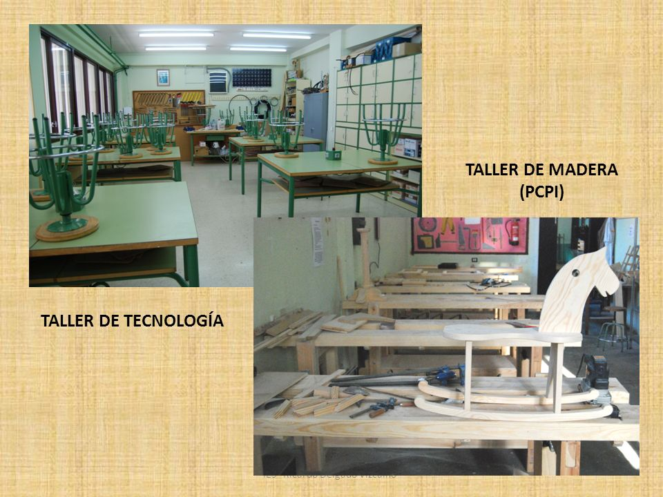 TALLER DE MADERA (PCPI)
