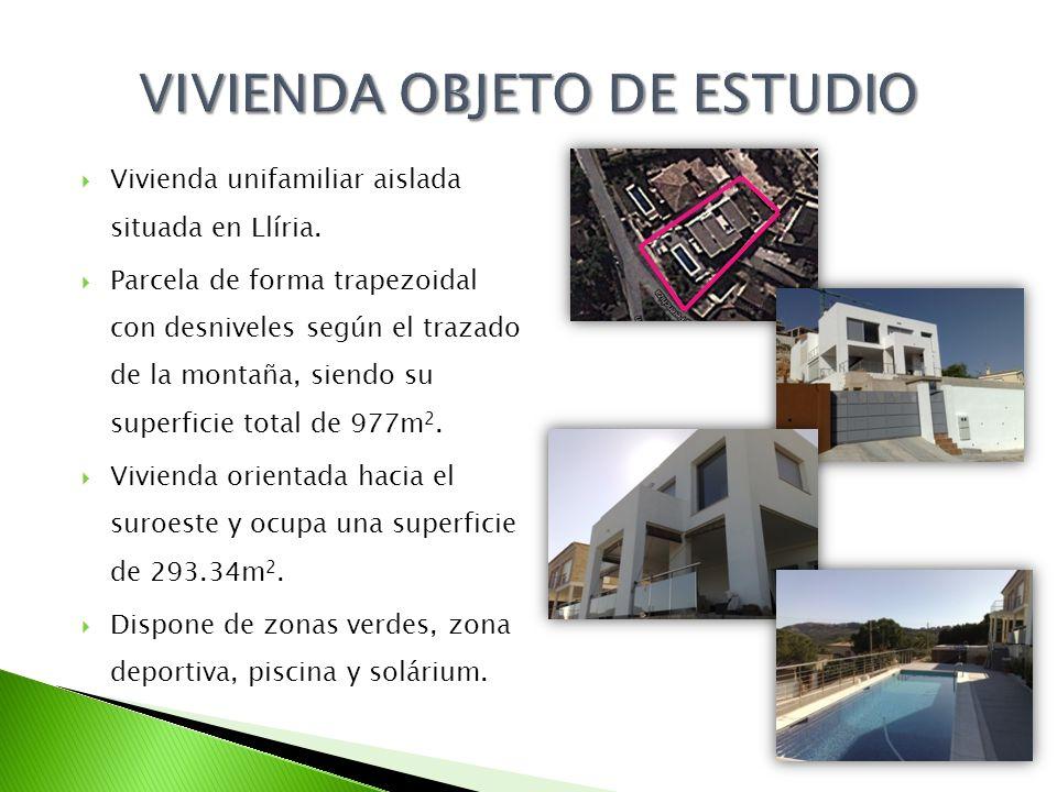 VIVIENDA OBJETO DE ESTUDIO