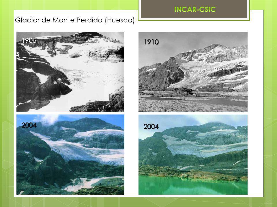 Glaciar de Monte Perdido (Huesca)