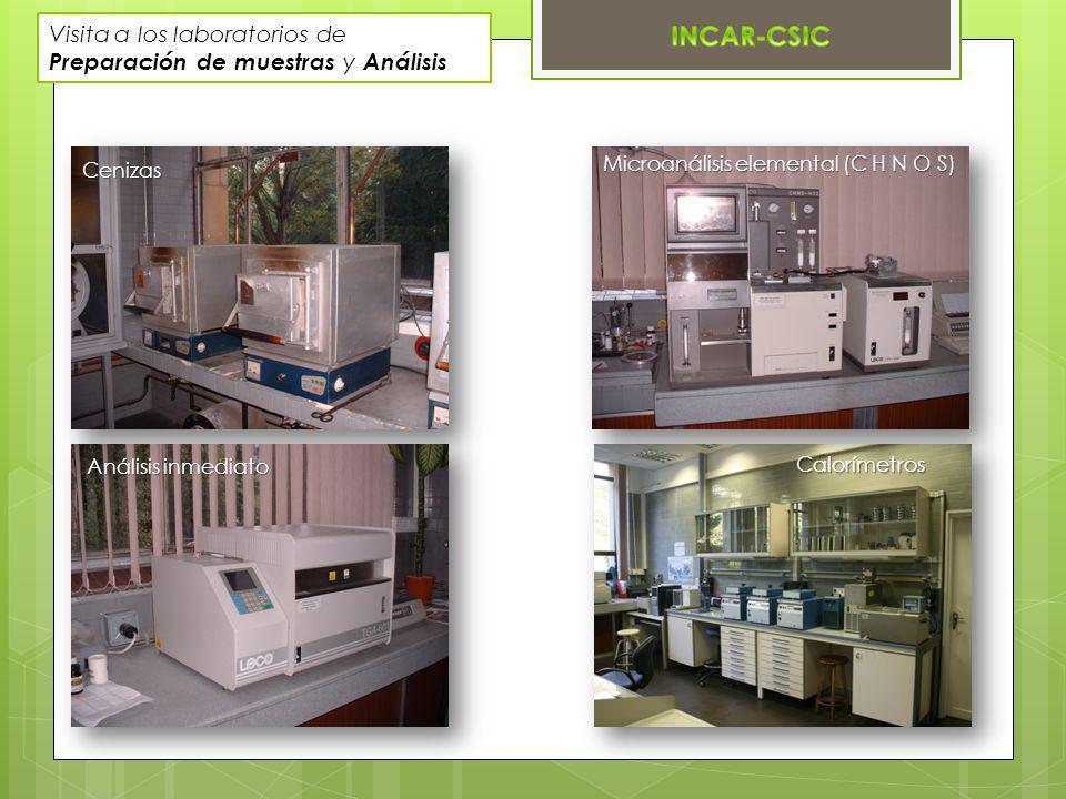 Visita a los laboratorios de Preparación de muestras y Análisis