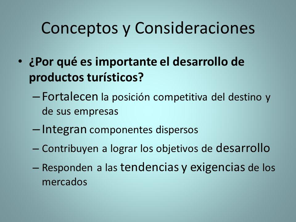 Conceptos y Consideraciones