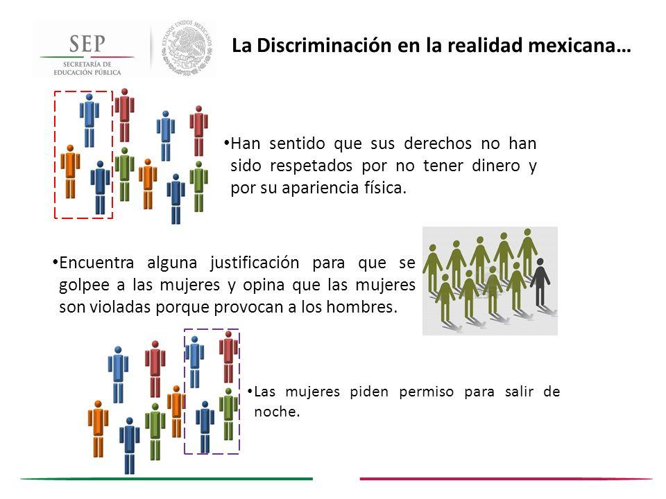 La Discriminación en la realidad mexicana…
