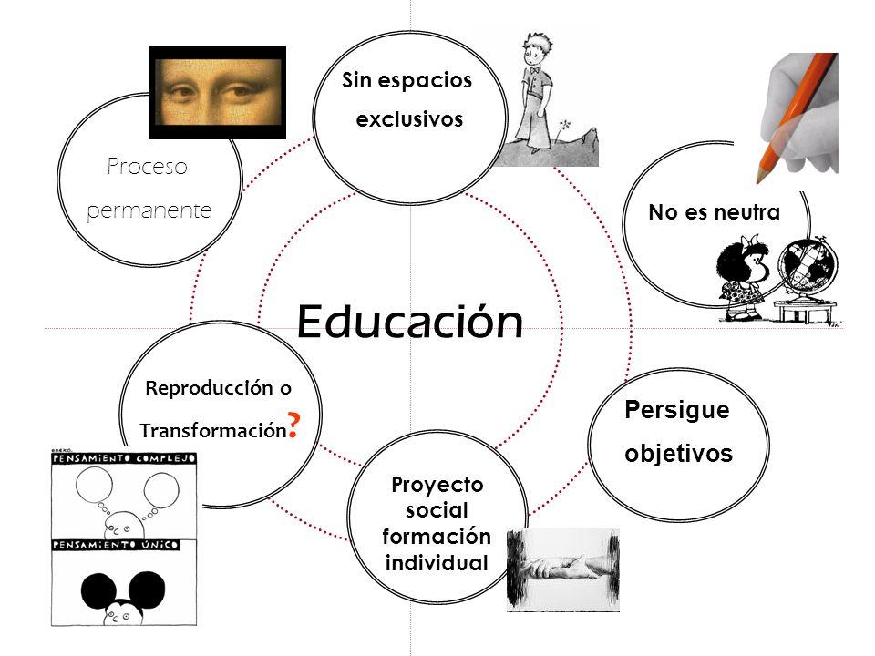 Proyecto social formación