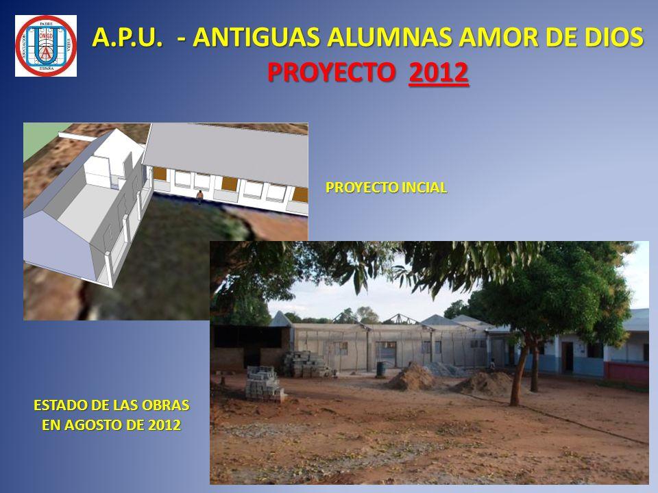 A.P.U. - ANTIGUAS ALUMNAS AMOR DE DIOS PROYECTO 2012