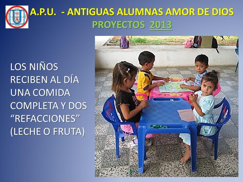 A.P.U. - ANTIGUAS ALUMNAS AMOR DE DIOS