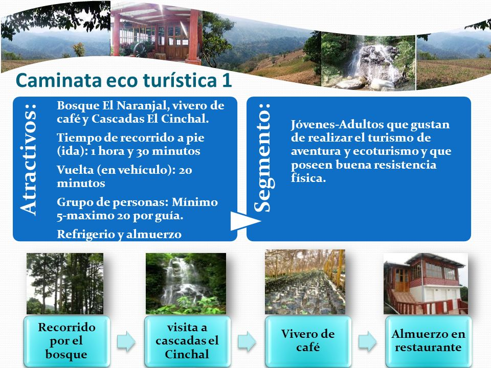 Caminata eco turística 1