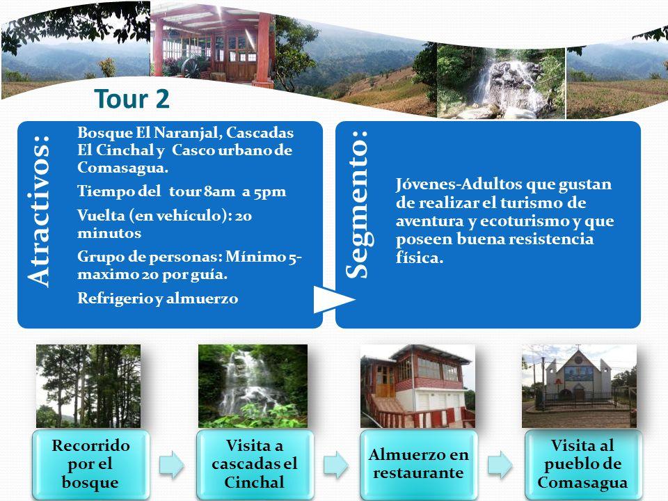 Atractivos: Segmento: Tour 2
