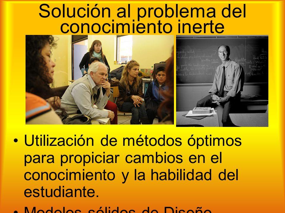Solución al problema del conocimiento inerte