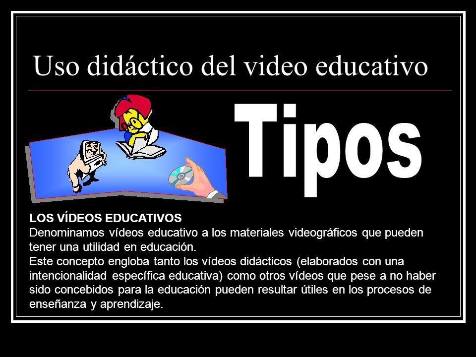 Uso didáctico del video educativo