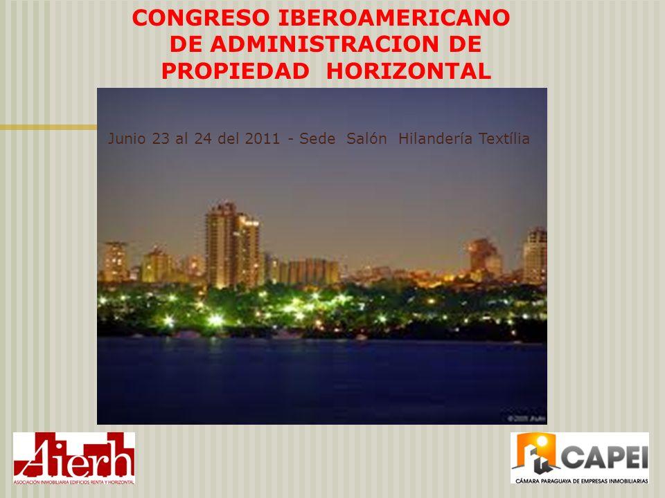 CONGRESO IBEROAMERICANO DE ADMINISTRACION DE PROPIEDAD HORIZONTAL